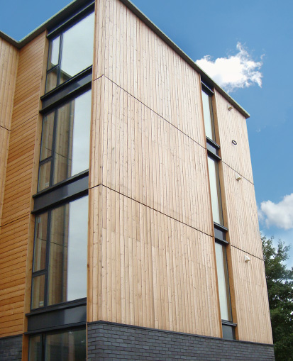siberian larch timber cladding buy larch cladding norclad. Black Bedroom Furniture Sets. Home Design Ideas