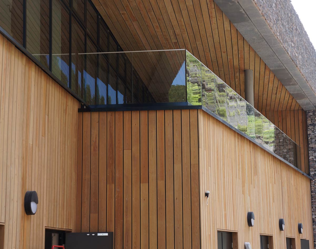 Contemporary Building Cladding : How to use timber cladding for a modern building norclad