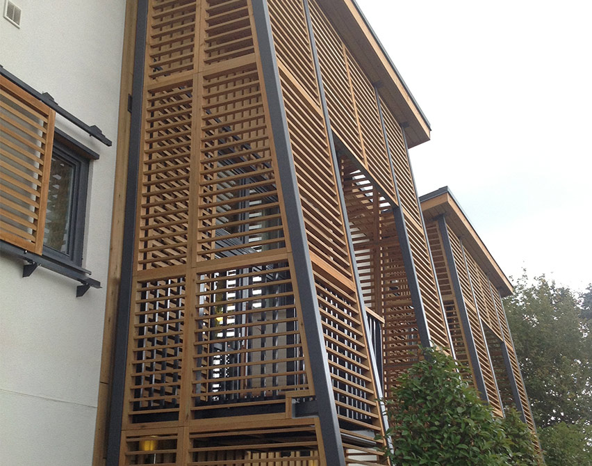 bespoke timber cladding projects