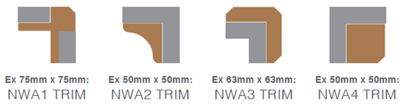 NORclad | Timber Cladding Solutions - Corner Trim Profiles