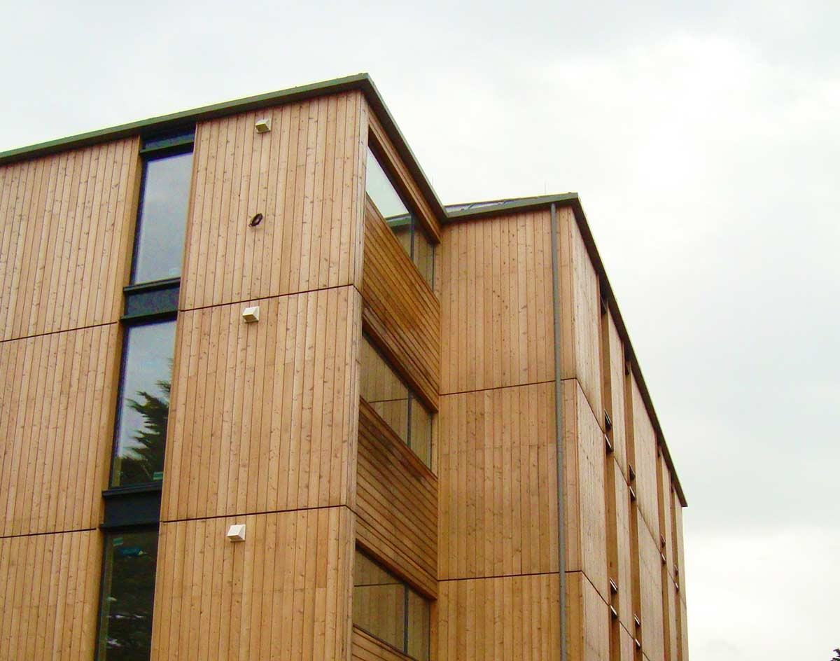 British larch timber cladding norclad