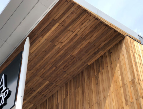 Using Ceiling Timber Cladding for the WOW Factor