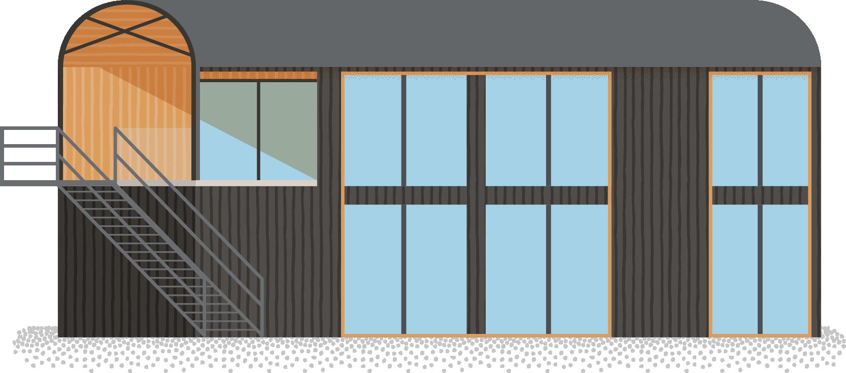 Mill Farm Barns (Orme Architects) - Glastonbury - Card