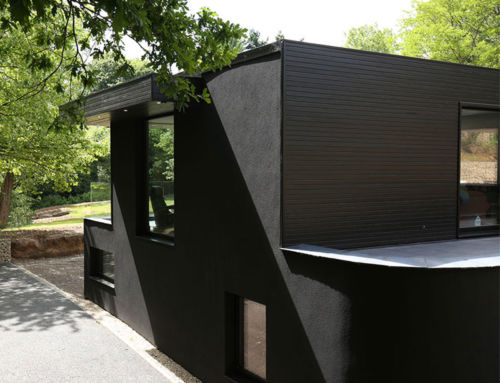 A Beginner's Guide to Black Painted Timber Cladding