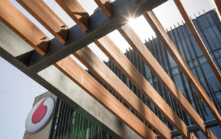 Abodo Timber Vodafone Slats