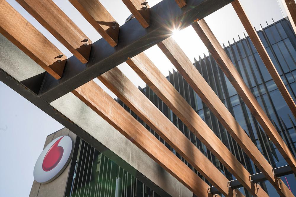 Abodo Timber Vodafone Slats