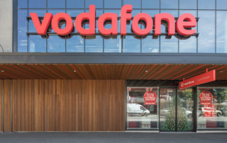 Abodo Timber Vodafone Awning