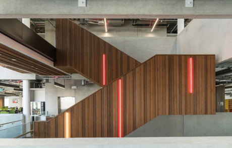 Abodo Timber Vodafone Staircase
